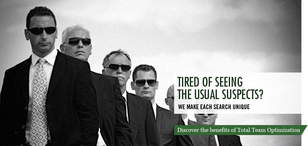 Tired of seeing the usual suspects? We make each search unique.